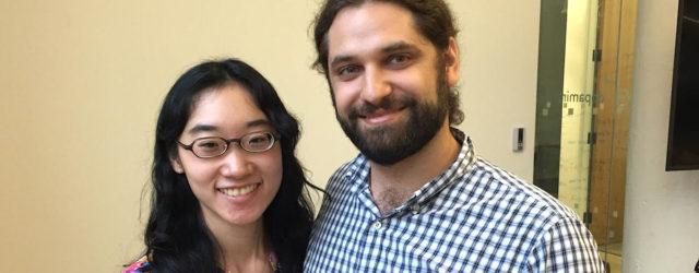 Rob Sanchez and Julie Chan